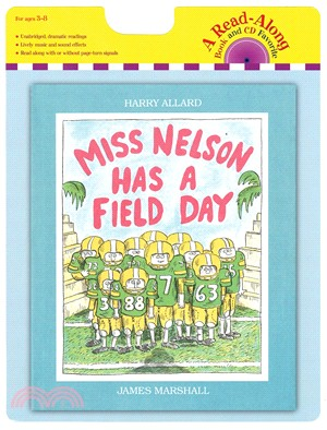 Miss Nelson Has a Field Day (1平裝+1CD)
