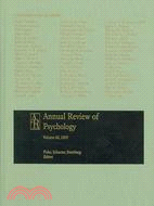 Annual Review of Psychology 2009