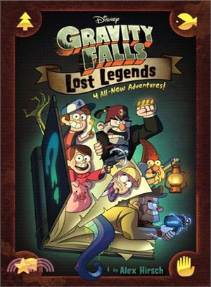Gravity Falls: Lost Legends-4 All-New Adventures (Graphic Novel)