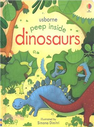Peep Inside the Dinosaurs (硬頁翻翻書)