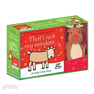 That's Not My Reindeer Book and Toy (1硬頁觸摸書+1玩偶)