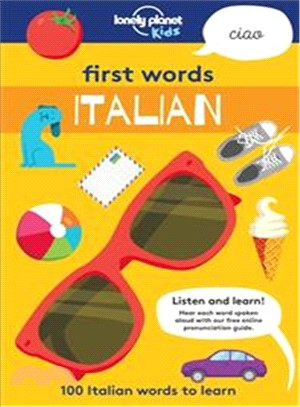 Lonely Planet First Words - Italian