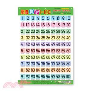 幼兒學習掛圖:認識數字1-100
