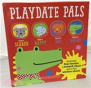 Playdate Pals Emotions Collection (4 books)